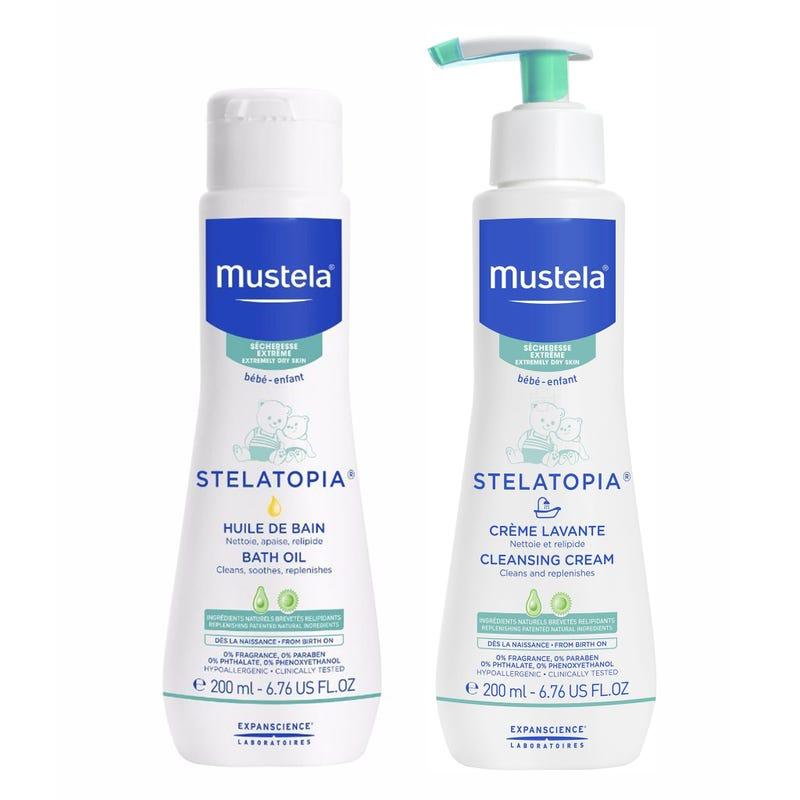 Duo stela cleansing cream+bath