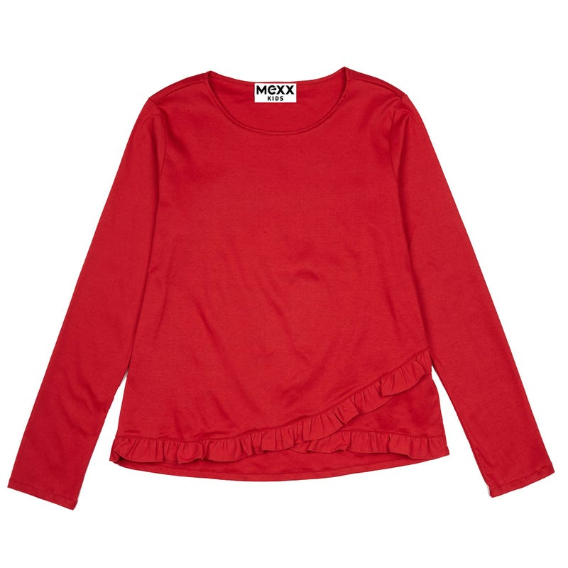British Long Sleeve Shirt 7-14y