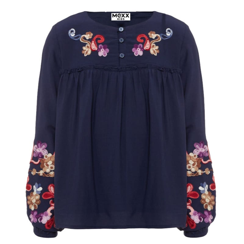 British Floral Blouse 7-14y