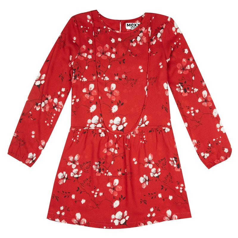 British Long Sleeve Dress 7-14y
