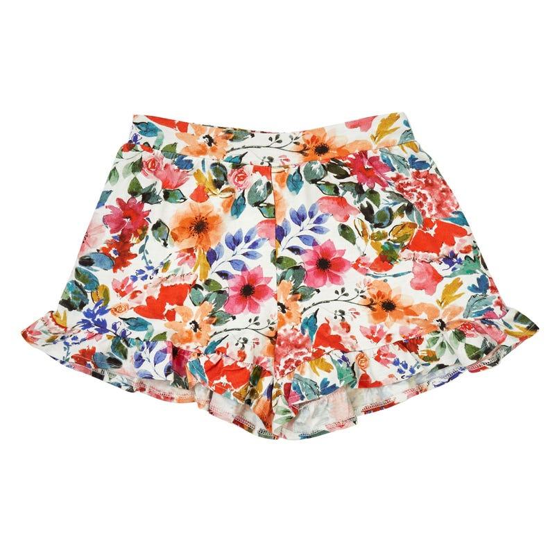 Short Floral 7-14