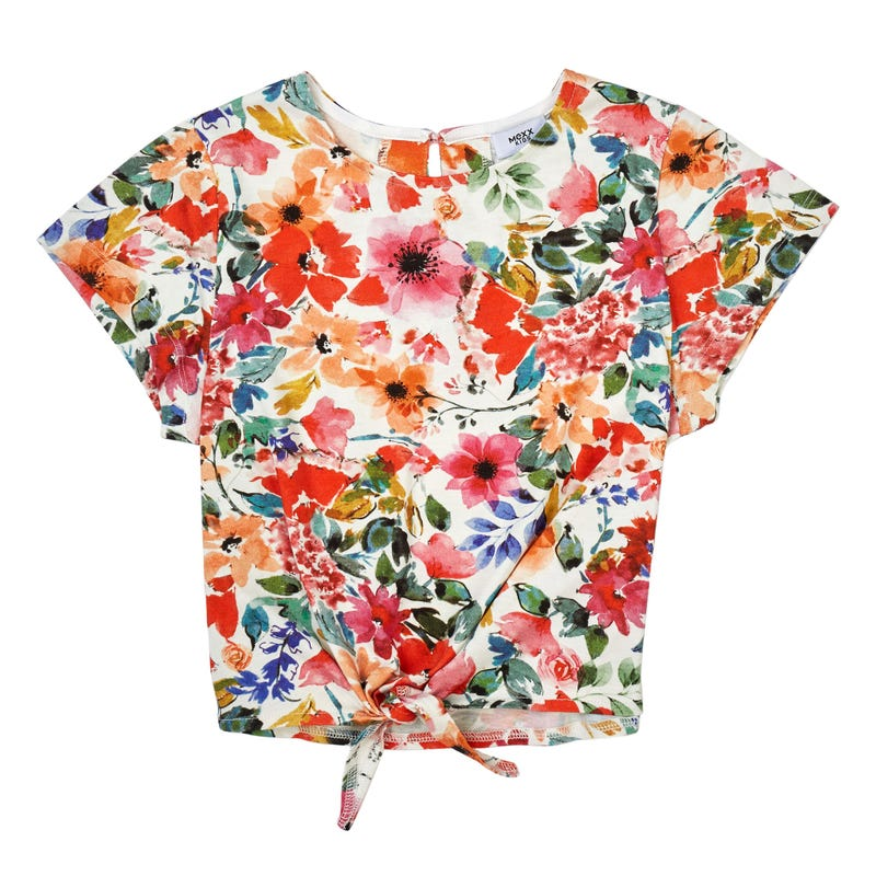 T-Shirt Noeud Floral 7-14