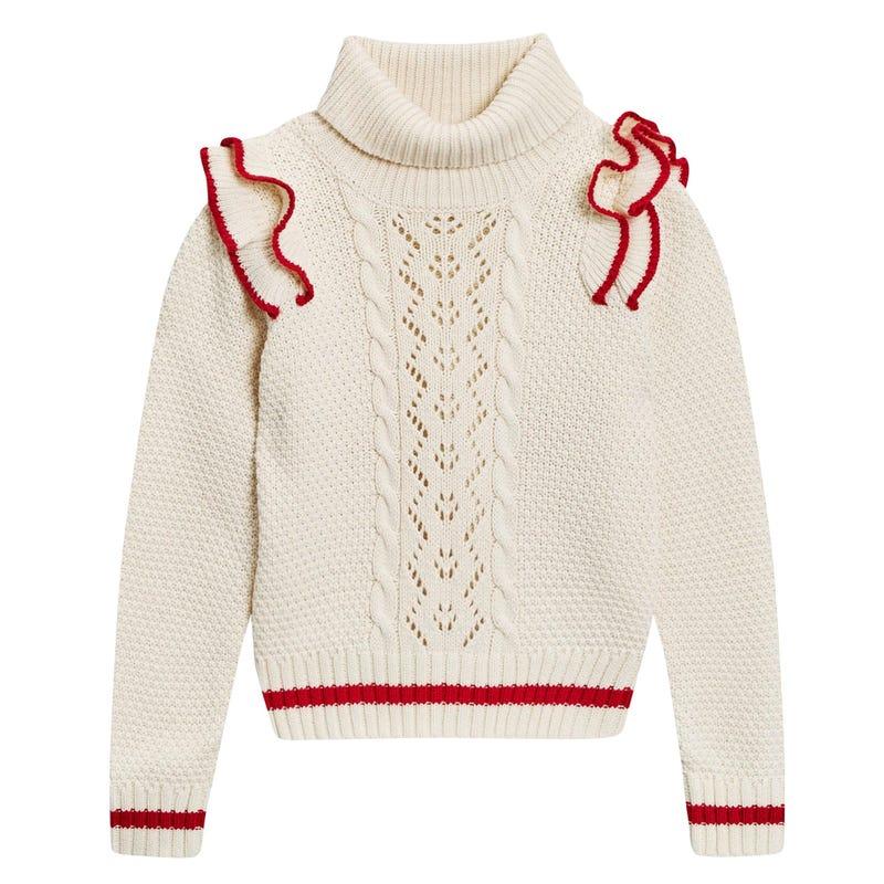 Britsh Frill Sweater 7-14y