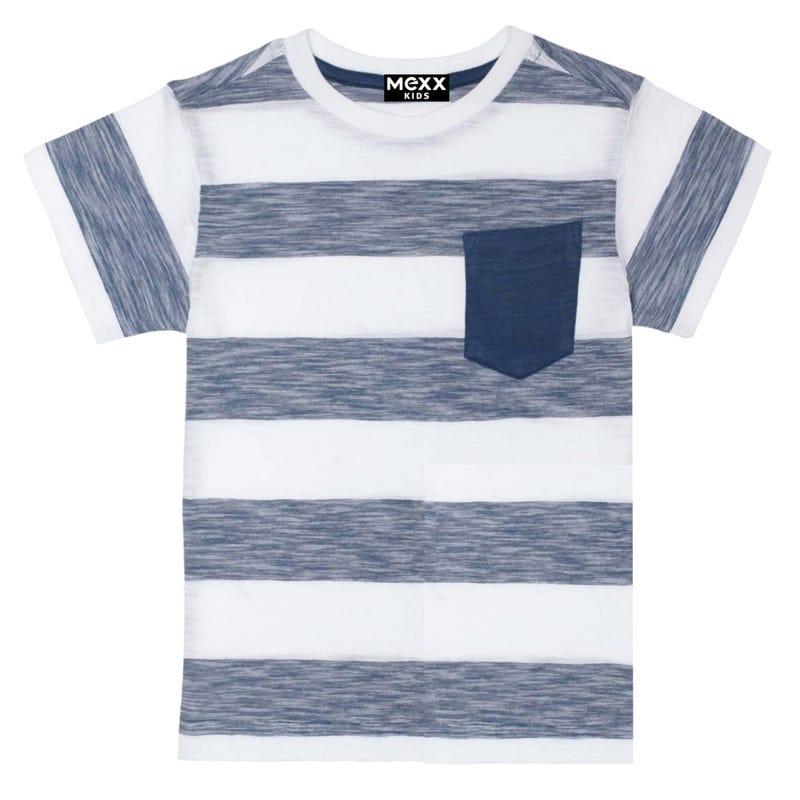 T-Shirt Rayé Poche 7-14