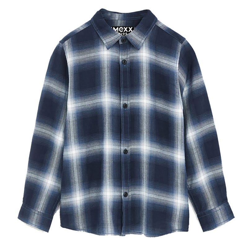 School Plaid Shirt 7-14y