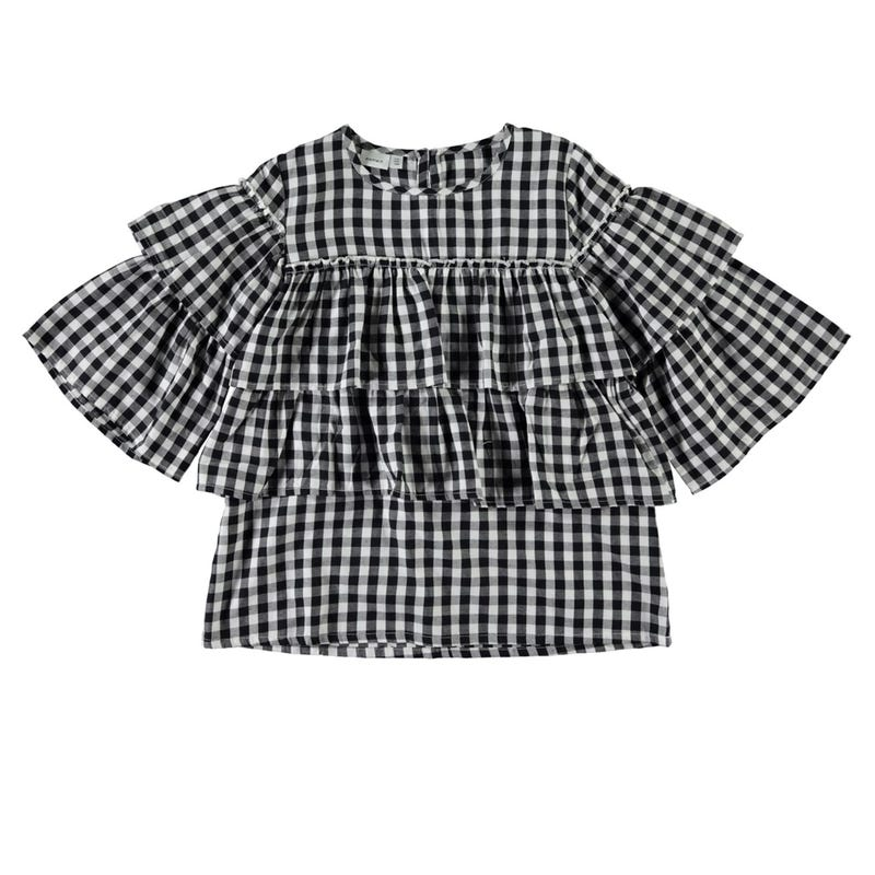 Lovely Gingham Blouse 8-14y