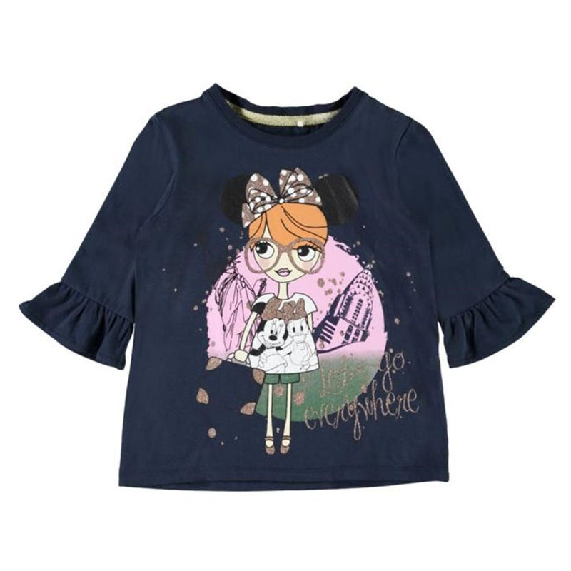 Minnie Pearl 3/4 Sleeve T-Shirt 2-7y