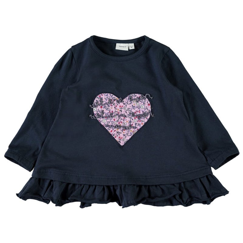 Lama Heart Tunic 2-7y