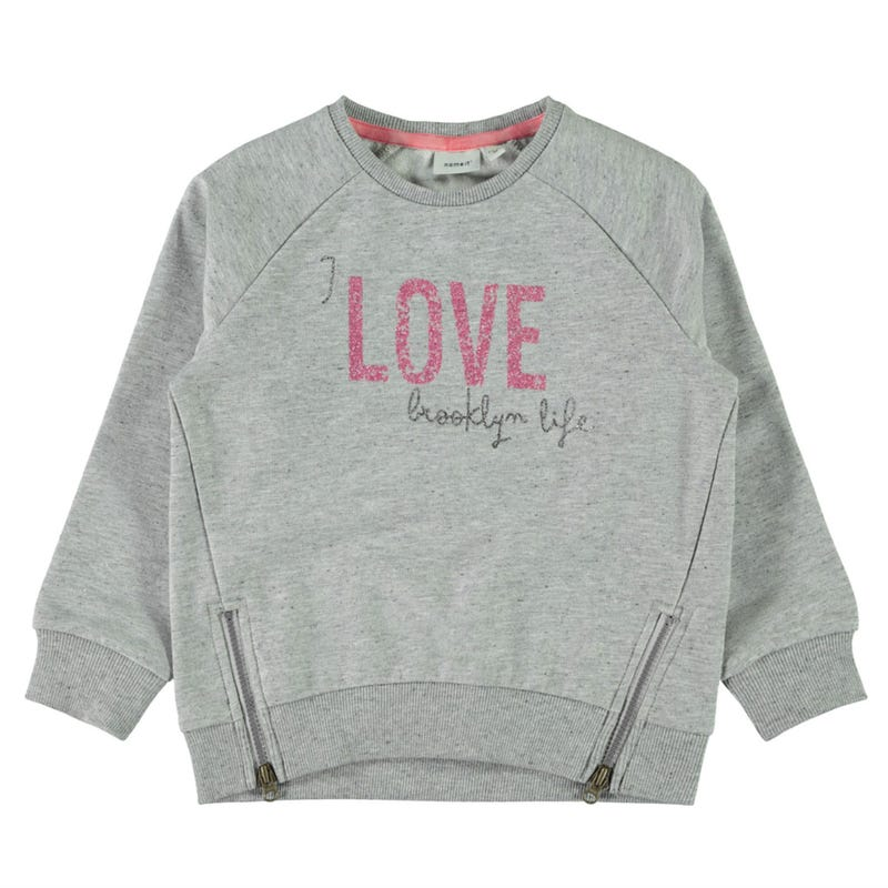 Flower Love Sweatshirt 2-7y