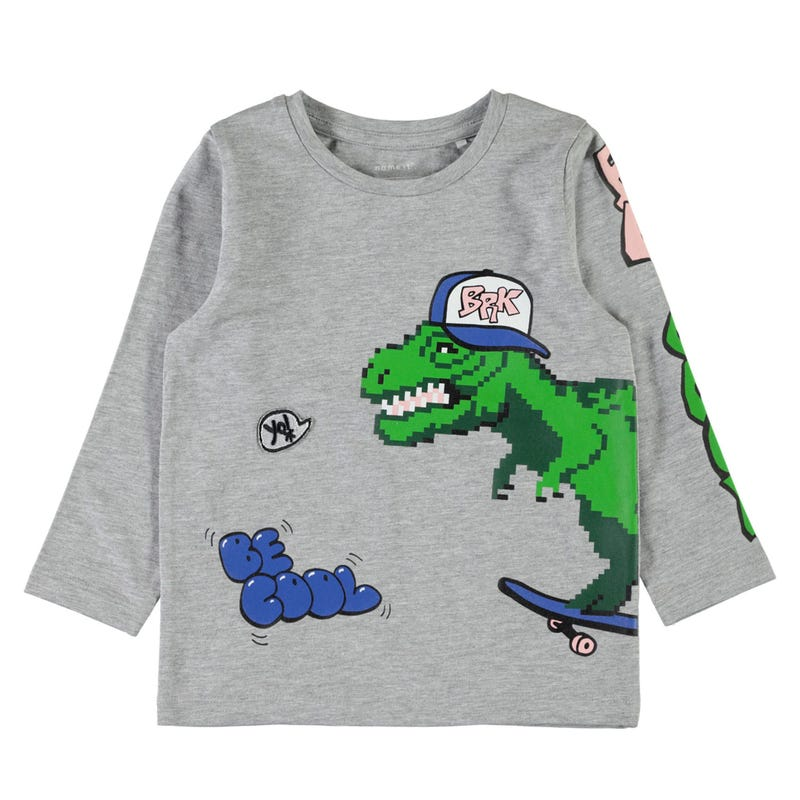 Dino Basso Long Sleeve Shirt 2-7y
