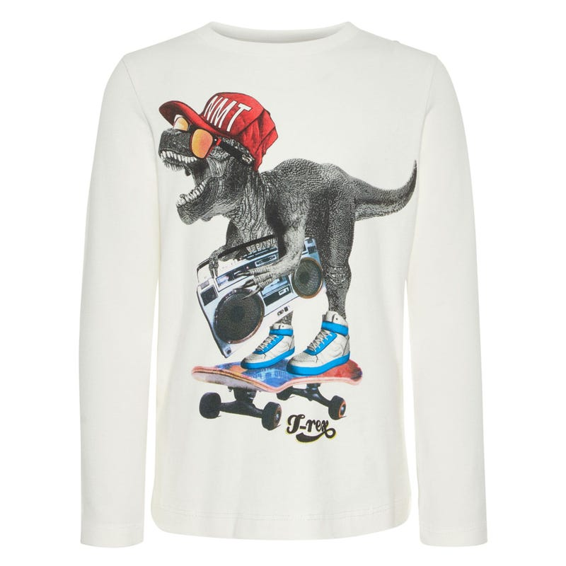 Dino Bamok Long Sleeve Shirt 2-7y