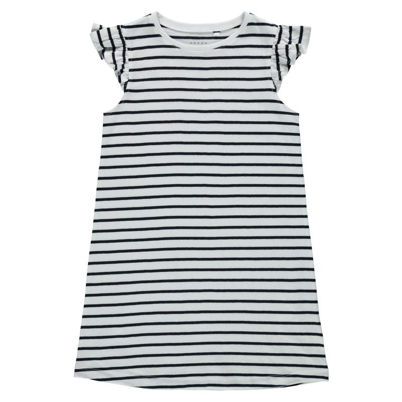 Exotic Striped Dress 8-14y