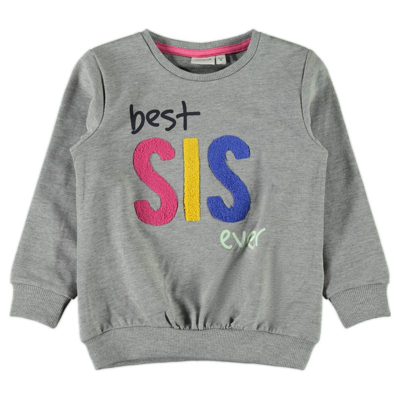 Fruit Best Sis Sweatshirt 2-8y