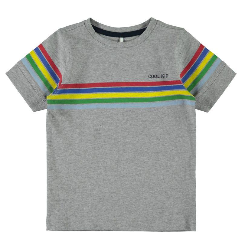 T-Shirt Rayé Sport 2-8ans