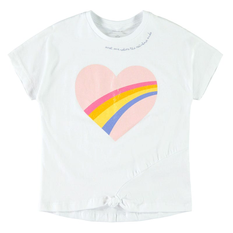 Exotic Rainbow T-Shirt 7-14y