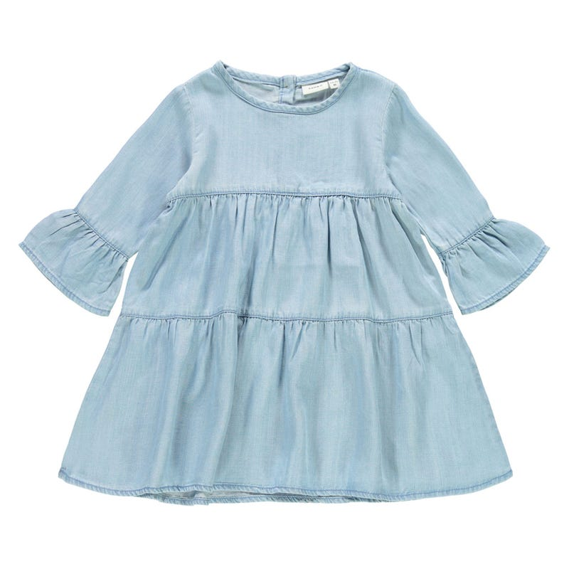 Fruit Denim Dress 2-8y