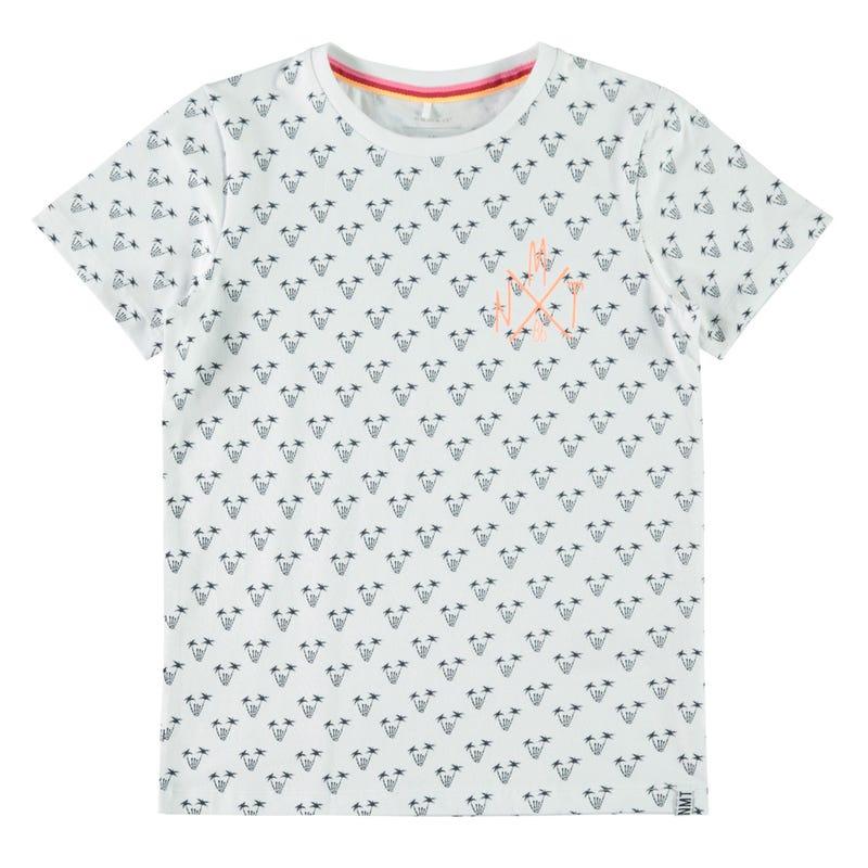 T-Shirt Palmier Surf 7-14ans