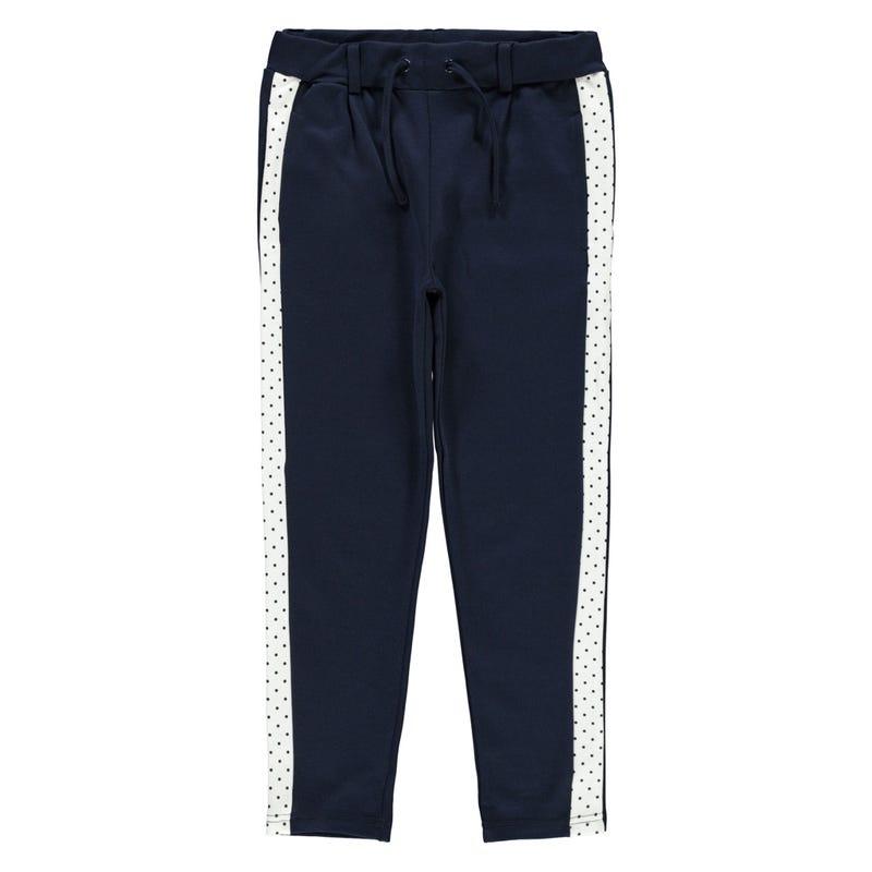 Pantalon Bande Pois 8-14ans
