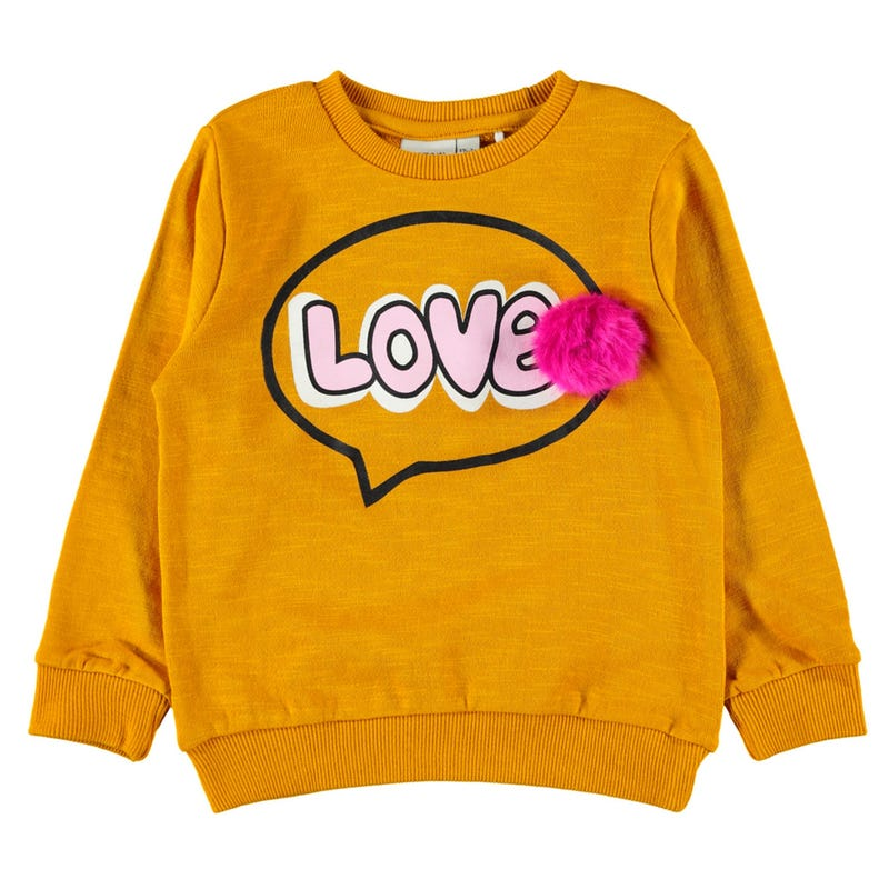 Amour Pompom Sweatshirt 2-8