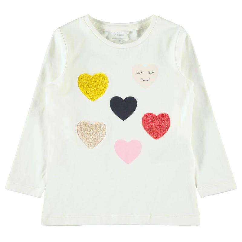 T-Shirt à Manches Longues Omg Amour 2-8ans