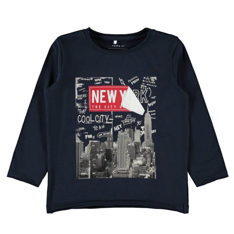 Super Hero Ny L/S T-Shirt 2-8