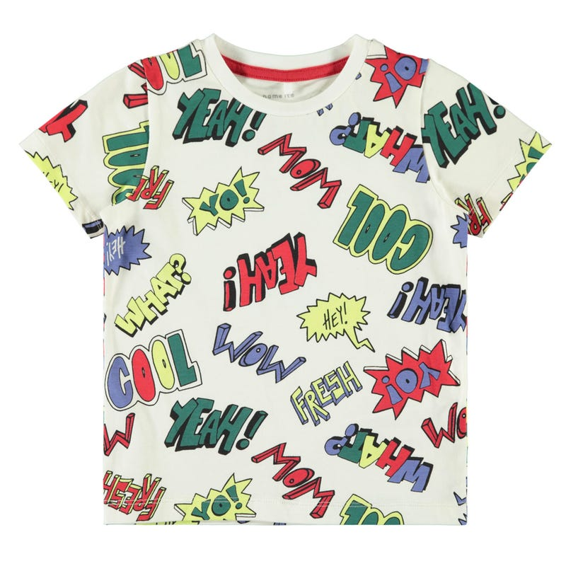 T-Shirt Super Hero 2-8ans