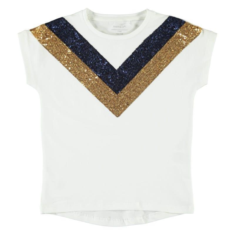 T-Shirt Paillettes Spirit 7-14ans
