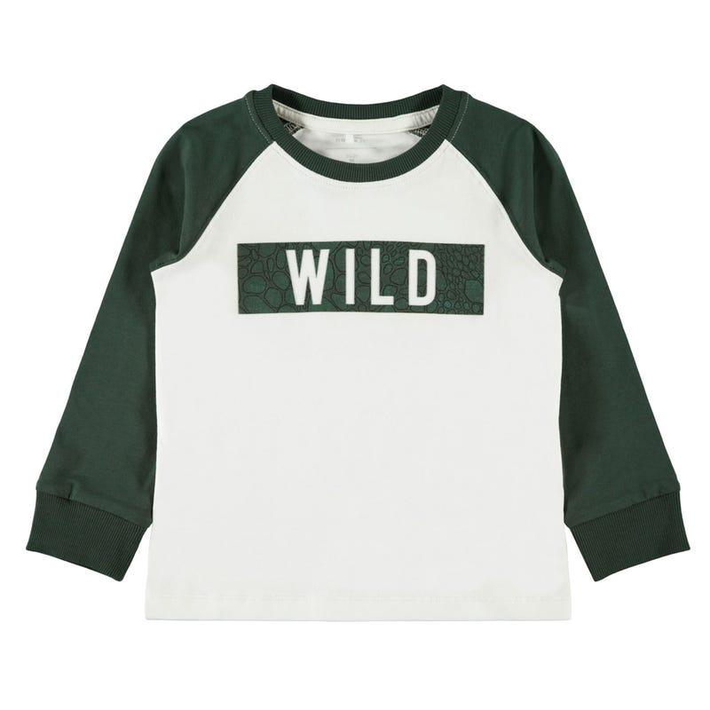 T-Shirt Wild à Manches Longues Gourmand 2-8ans