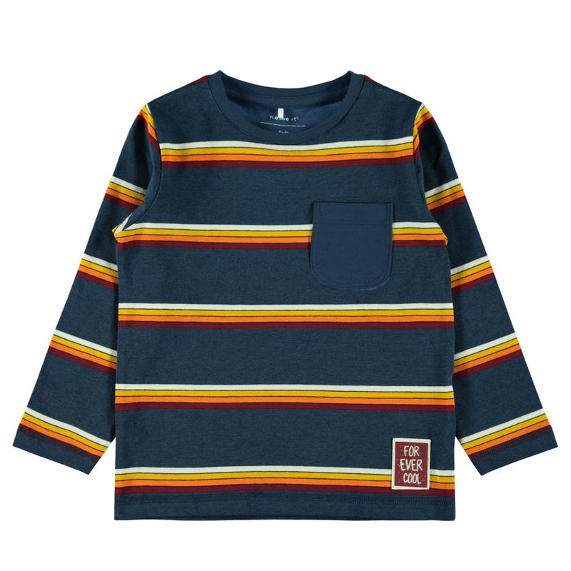 T-Shirt Rayures Gourmand 2-8ans