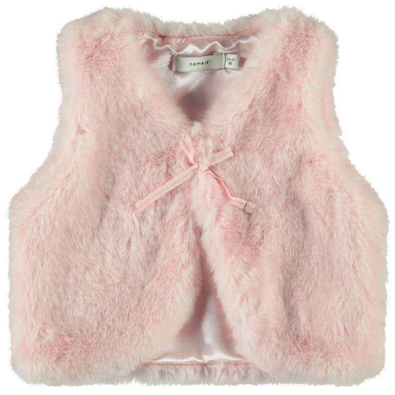 Sweets S/L Faux Fur Vest 2-8
