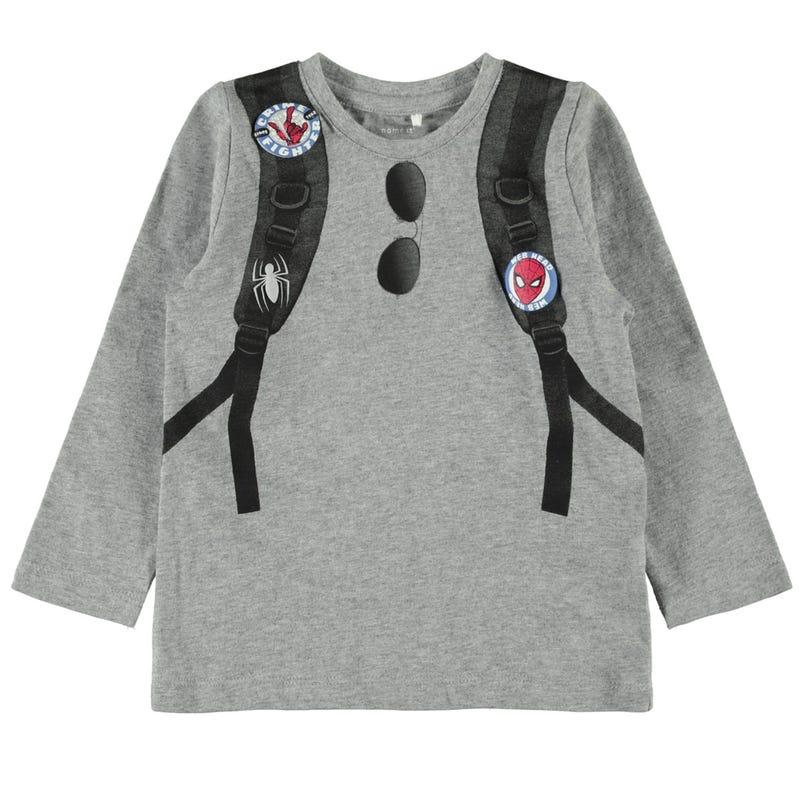 T-Shirt à Manches Longues Super Héro 2-8ans