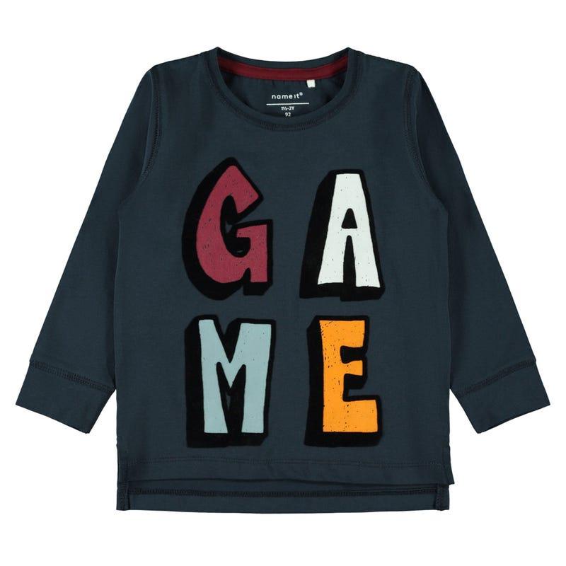 T-Shirt à Manches Longues Le Jeu 2-8ans