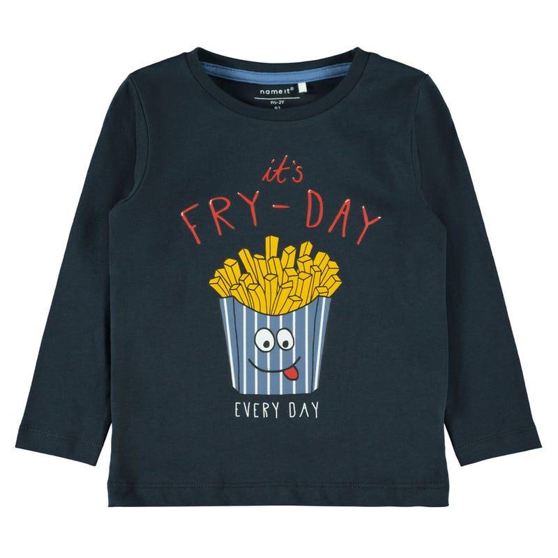 T-Shirt à Manches Longues Gourmand 2-8ans