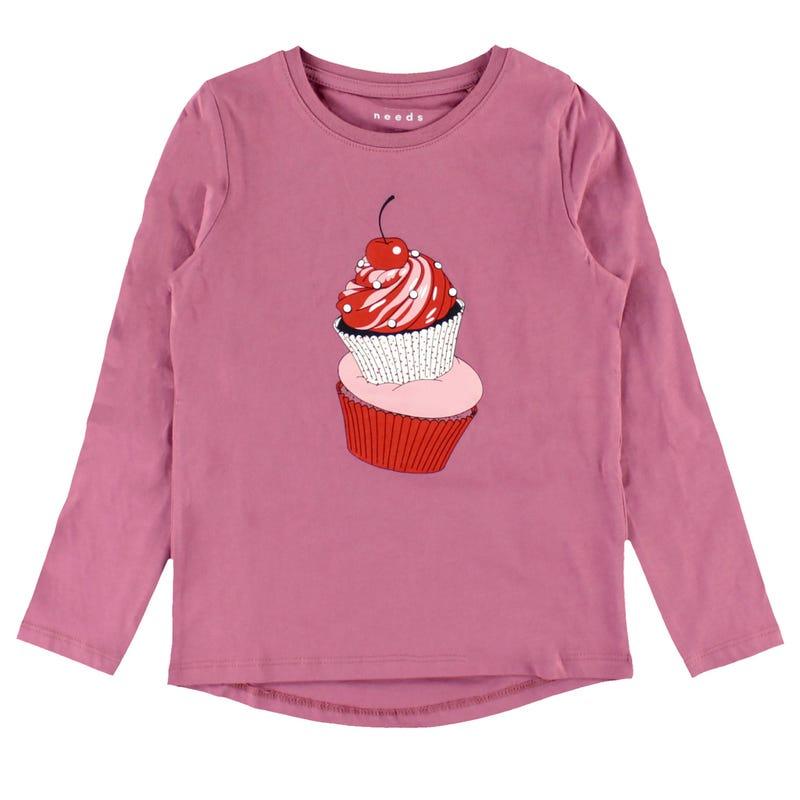 Lovely Cupcake T-Shirt 2-8