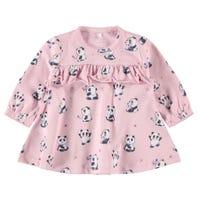 Cute Panda Frill Dress 9-18m