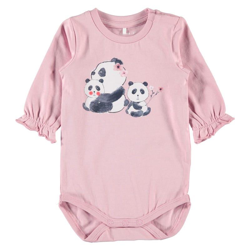 Cute Panda 1pc T-Shirt 9-18m