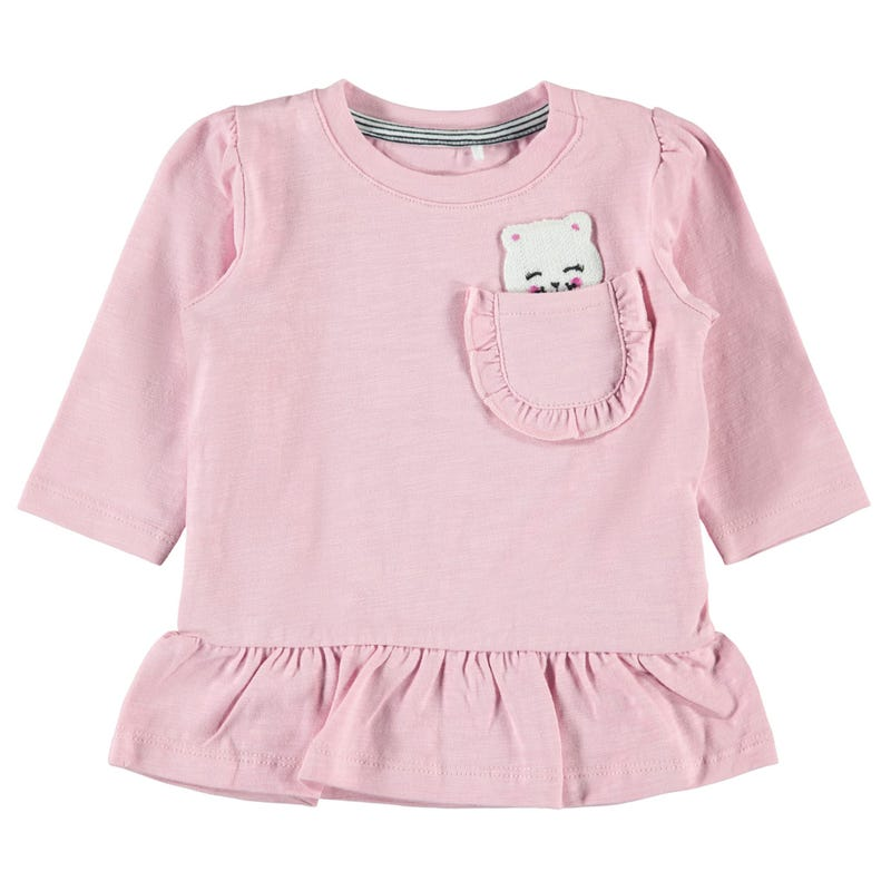 Cat Pocket Tunic 9-18m