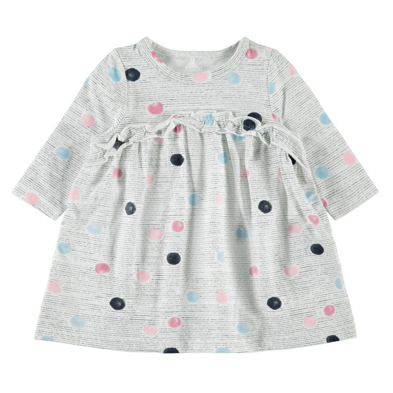 Cat Dots Dress 9-18m