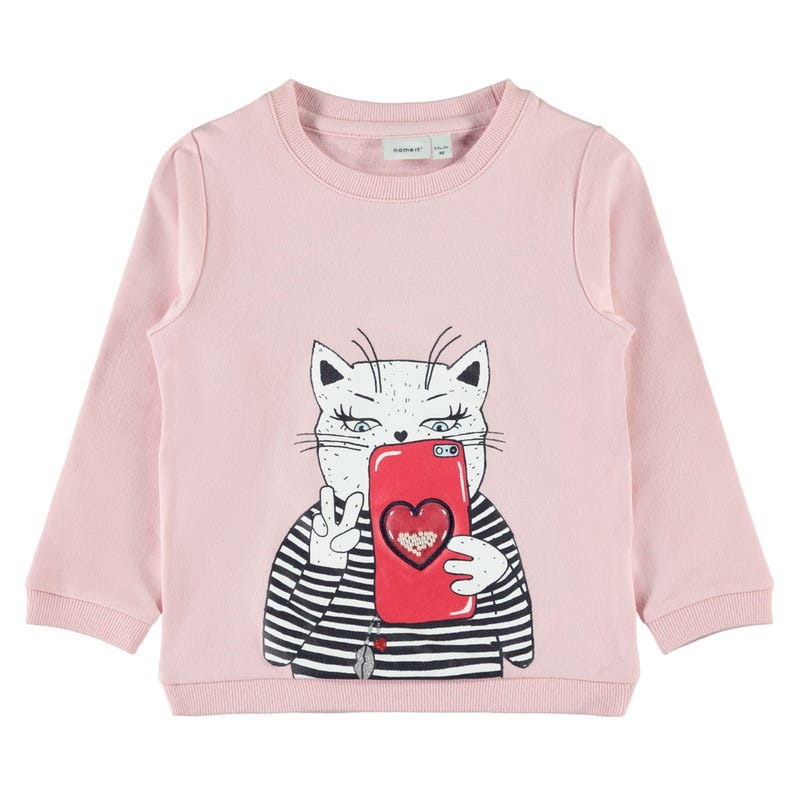 Lovely Cat Sweatshirt 2-8