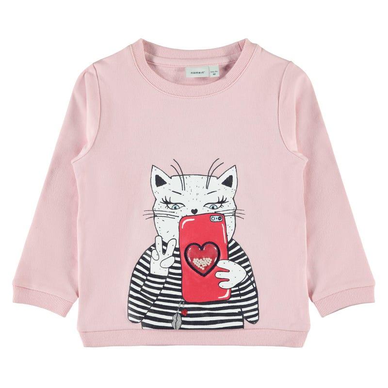 Lovely Cat Sweatshirt 2-8