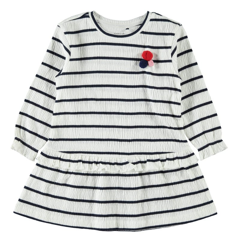 Lovely Striped Dress 2-7y