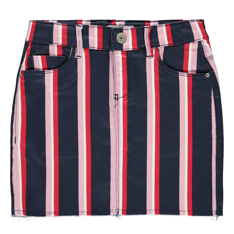 Love Striped Skirt 8-14y