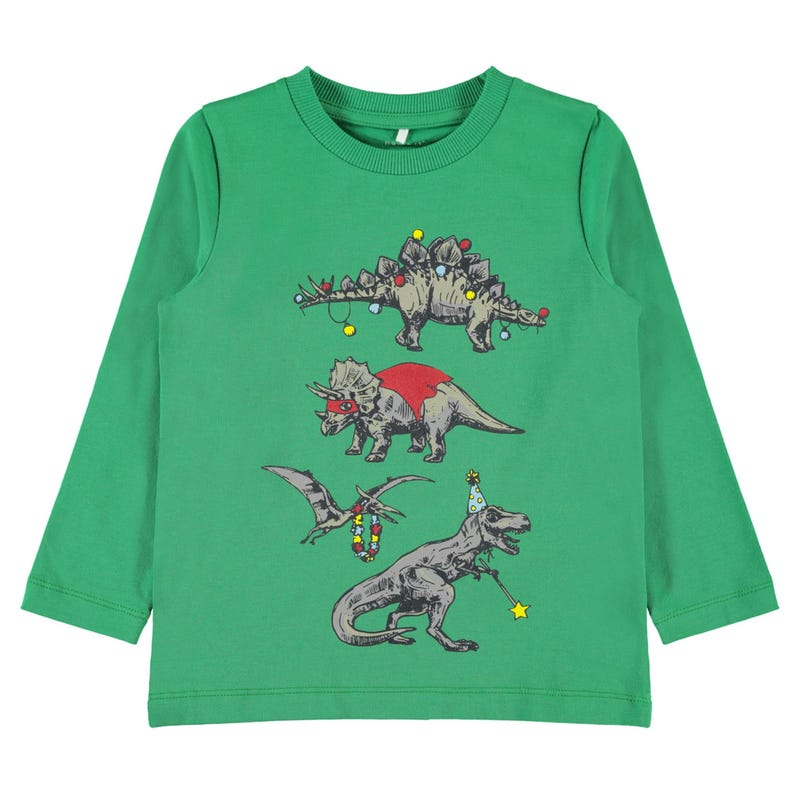 Chill Hero Dino T-Shirt 2-8