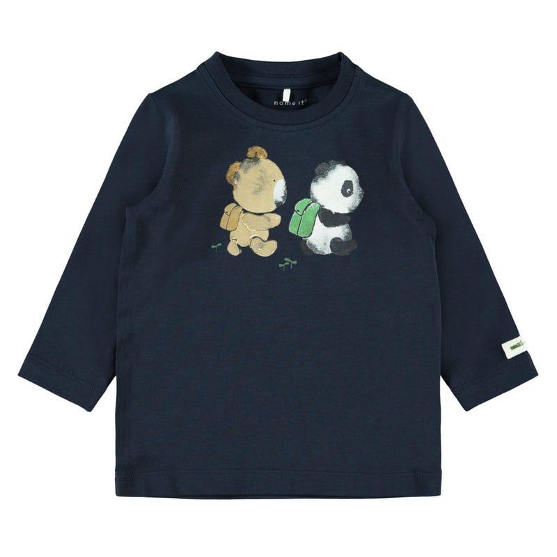 T-Shirt Ourson 9-18m