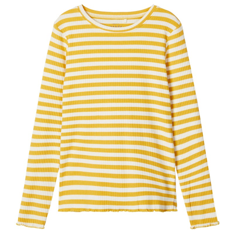 Daisy Striped T-Shirt 7-14y