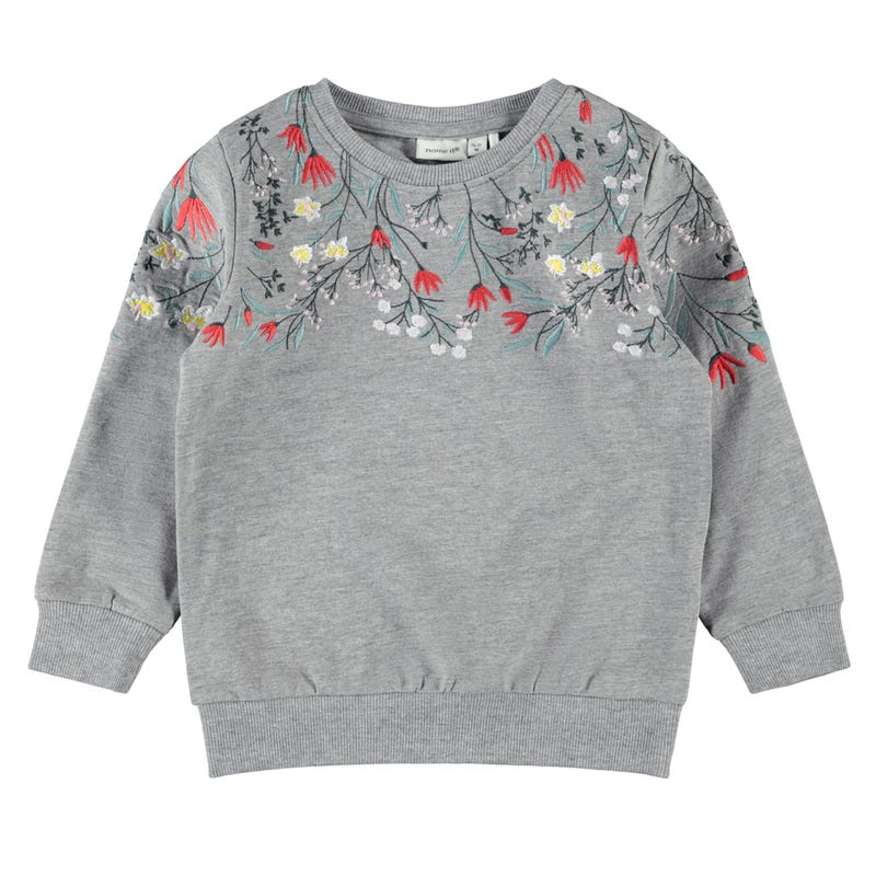 Flower Sweatshirt 2-8y