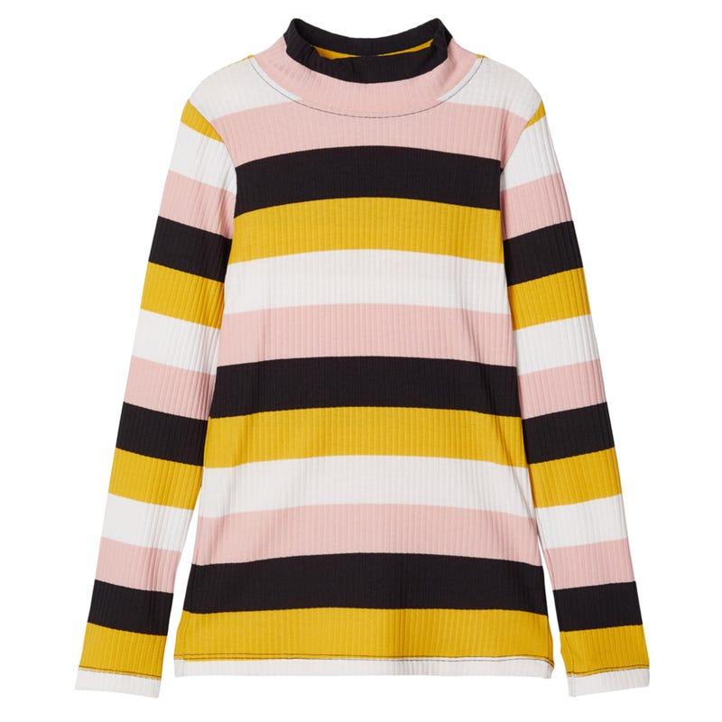 Daisy Turtleneck T-Shirt 7-14y