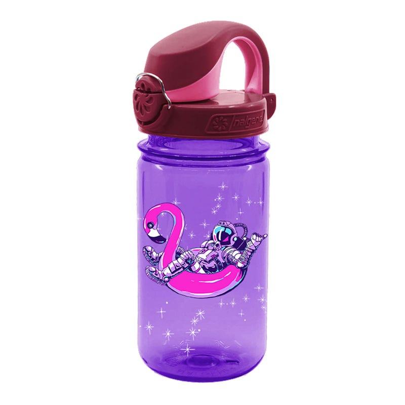 12oz Kids OTF Nalgene Bottle - Purple Astronaut