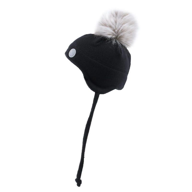 Pom-Pon Fleece Beanie 12-24m