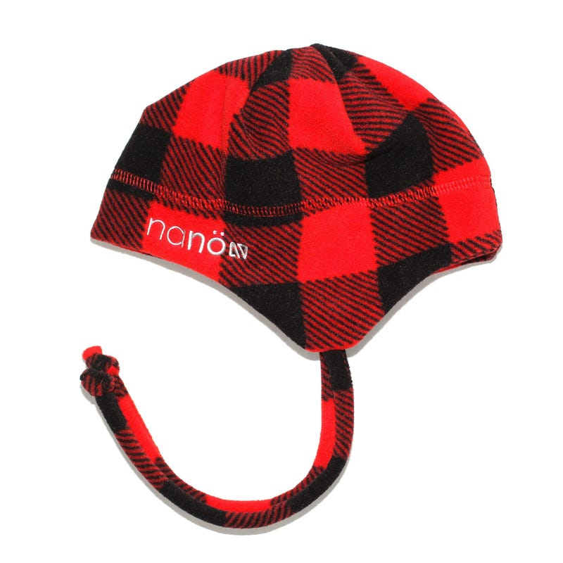 Fleece Plaid Beanie 2-4